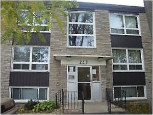 Clean & Well Maintained 1 bedroom units close to everything!