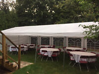 PARTY TENTS AND RENTALS!! FOLDING CHAIR RENTALS and MORE!!!