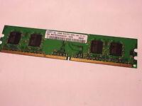 2x 256MB Samsung DDR2-400 PC2-3200U CL3 1Rx16 M378T3354BZ0-CCC