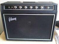 Gibson vintage amplifier 1971 ..