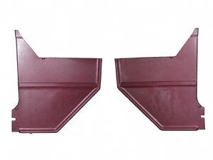 1968 Mustang Kick Panel Coupe/Fast Back (Maroon) Pair