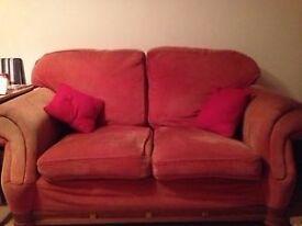 2 & 3 Seater Teracotta Large Sofas