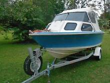 SAVAGE STREAKER HALFCABIN ,TRADE FOR LARGER BOAT Tewantin Noosa Area Preview