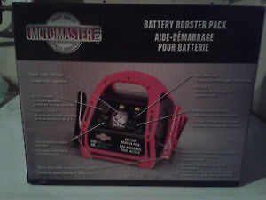 BRAND NEW BATTERY BOOSTER PACK STILL IN BOX