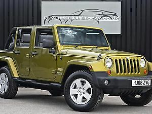 2008 Jeep Wrangler Unlimited Impeccable