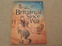 Usborne History of Britain Britain Since the War NEW Book for sale  Bristol