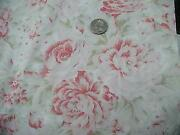 Large Rose Fabric