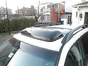Déflecteur pour toit ouvrant (Subaru), teinté, neuf!