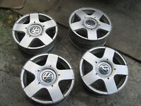 4 mags 15 pouces original VW golf, jetta new beetle