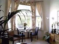 Excellent location. Bright and beautiful 2 bedroom flat with internet. Available now