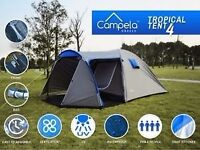 Campela 4 man tent used only this week- a bit too small for our family