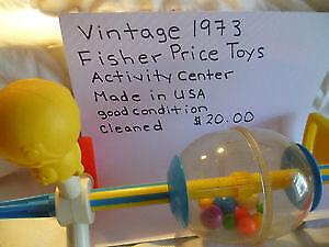 Vintage 1973 Fisher Price Toy Activity Center