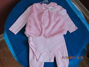 Brand New baby girl clothing set with tags