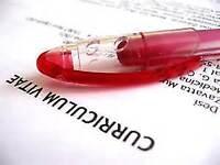 Correction - Mise à jour CV et lettre