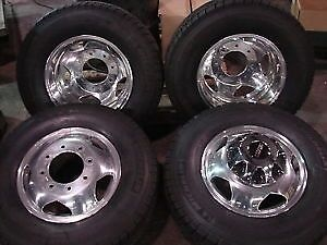 2016 Gmc 3500 1 ton Dually wheels and tires Brand New take offs