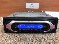 SONY XPLOD CDX-MP40 MD/CD CAR RADIO CD PLAYER 50W x 4 EQ3