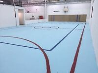Gym permits from $25/hr! Basketball, volleyball, tennis!