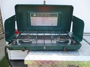 Northern Escape Deluxe 2 burner propane camp stove
