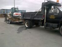 Dump Truck and Excavator For Hire
