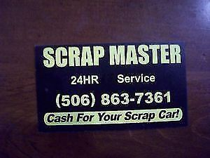 OPEN 24/7 Buying Scrap cars.TOP PRICES PAID!FREE TOW AWAY!