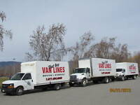 CHEAPEST RATES -- EMPTY MOVING TRUCK GOING TO BC -- WEEKLY TRIPS