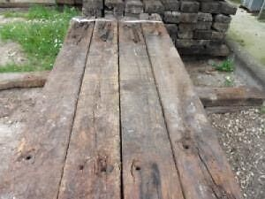 A grade old railway sleepers  North Rocks The Hills District Preview