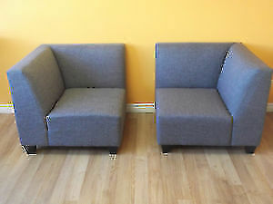 SPECIAL! 5 PC MODULAR GREY COUCH & LOVESEAT - USED 3 WEEK London Ontario image 6