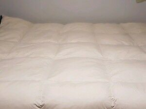 Homemade Hutterite goose down and feather duvets