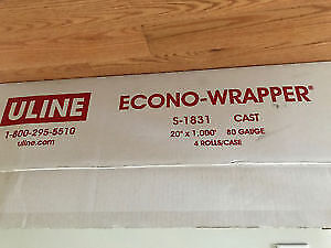 High Quality Moving Wrap - ULINE for $50 (3 rolls)