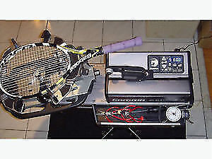 TENNIS RACQUET STRINGING THE PROFESSIONAL WAY from $20 to $35