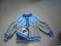 Hand Knit Toddler Sweaters