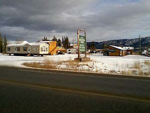 TWO MOBILE HOMES DISPLAYED IN WHITEHORSE - WHOLESALE HOUSING INC