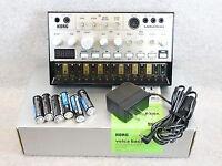 Korg Volca Bass Synth V.G.C. Power Supply & re-Chargable Batteries £85.00