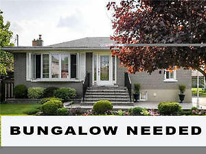 Looking For Houses-------Bungalow Needed ( Detached, Semi)