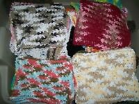 100% Cotton Crocheted Dish Clothes