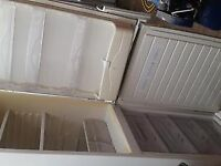 Tall White frost free A Class Hoover Fridge Freezer