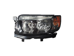 SUBARU FORESTER HEAD LAMP LH W/SPORT PKG (BLACK) 07-08 HQ