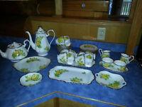 yh China Royal Albert Tea & Coffee Service 44 pcs