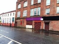 2 Units Office/Retail To Let or For Sale West Street Tradeston Glasgow,Avail Now