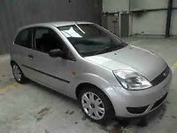 2005 FORD FIESTA 3 DOOR HATCHBACK, 1.2 STYLE, CLIMATE, C/D PLAYER LONG MOT.