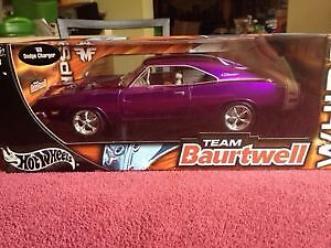 Hot Wheels Team Baurtwell 1969 Dodge Charger R/T. ONLY 100$..... London Ontario image 1
