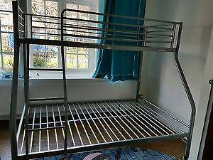 Grey metal bunk bed (single size) The Gap Brisbane North West Preview