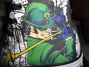 DC The Riddler Converse Shoes