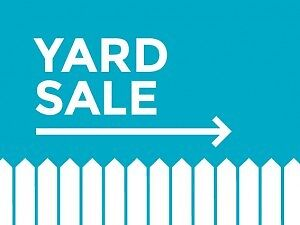 Long Weekend Two Day Yard Sale. EVERYTHING MUST GO!!!