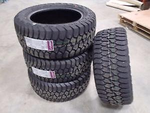 AMP Terrain Gripper A/T Tires 305/55/20 $1189/set of 4!! Winter Rated!!
