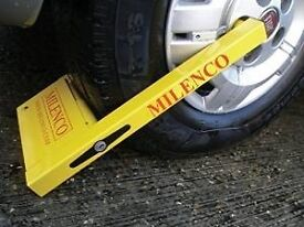 Milenco Compact Wheel Clamp caravan Motorhome camper trailer BRAND NEW STOCK CLEARANCE