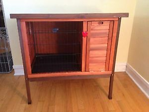 Solid Wooden Rabbit Hutch