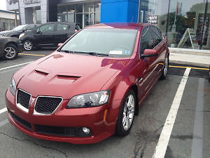 2009 Pontiac G8 Base V6 Sedan