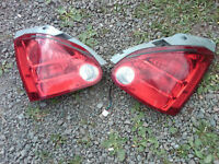Pair of tail lights for Honda Civic 2002