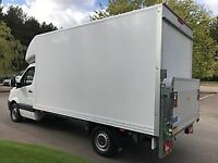 24/7 MAN AND VAN HIRE WITH DRIVER, DELIVERY, HOUSE REMOVAL, SHORT NOTICE, URGENT CLEARANCE,